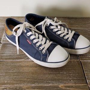 🔔LEVI Navy Blue Sneakers in Men size 9.5
